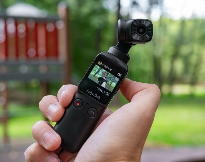 Экшн-камера Feiyu Pocket. Карманный друг трэвел-блогера