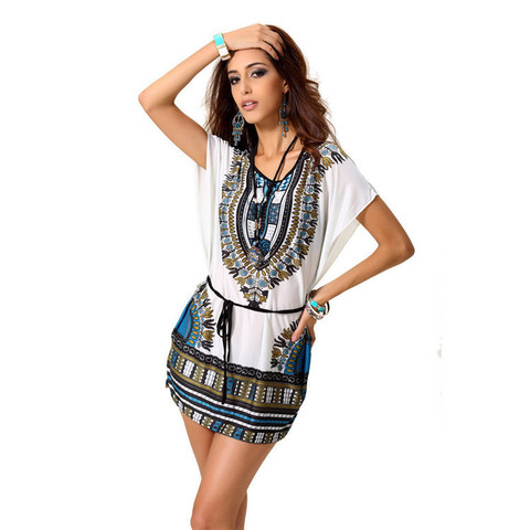 Африканские цвета в модной одежде