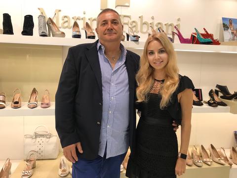 Marino Fabiani основатель своего бренда.