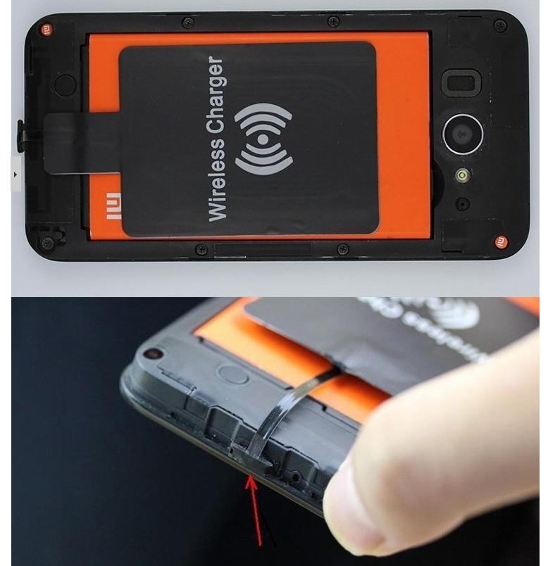 Встраиваемый Qi-приемник: беспроводная зарядка в любом смартфоне