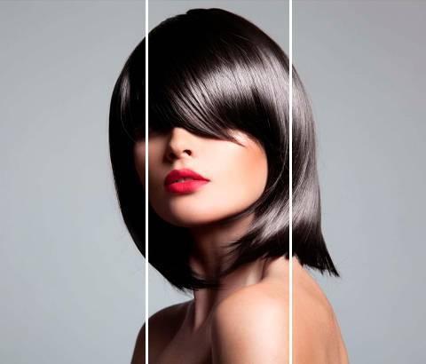 Как укладывать челку разной формы на любом типе волос