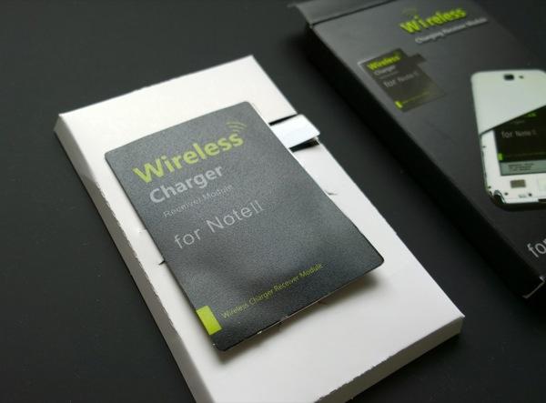 Установка ресивера qi для беспроводной зарядки Samsung Galaxy Note II