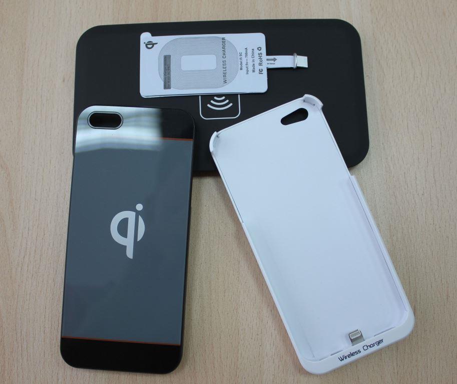 Обзор ресиверов qi для беспроводной зарядки iphone 5/5S/5C