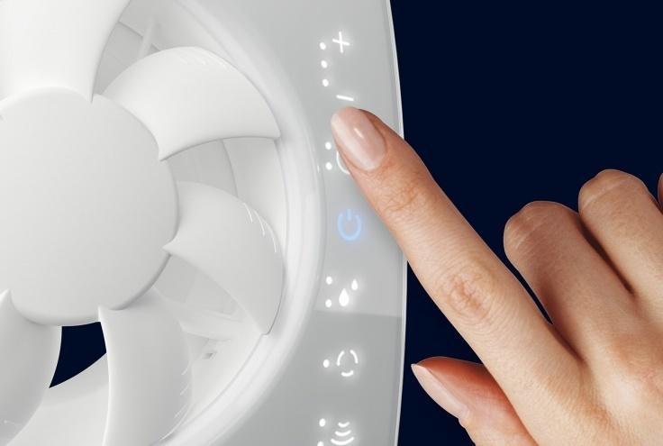 Сенсорный вентилятор предлагает фирма «Благовест»