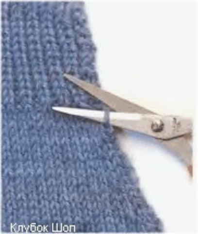 Как удлинить или укоротить вязаный рукав