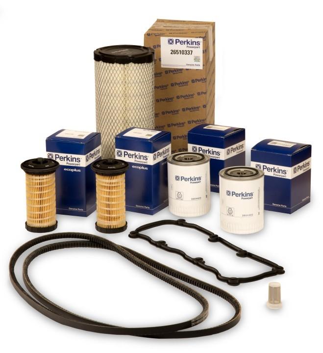 Сервис-комплекты запчастей - это простота заказа, перевозки и  хранения.
