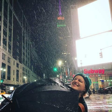 Ира передает привет из Нью-Йорка