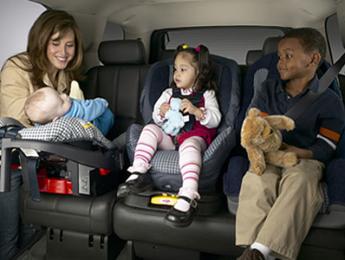 Безопасное место для детского автокресла