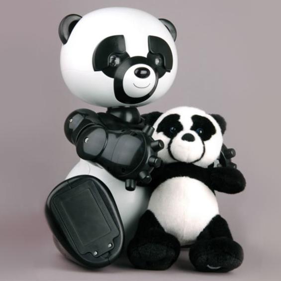 Роботизированная панда для развития детей
