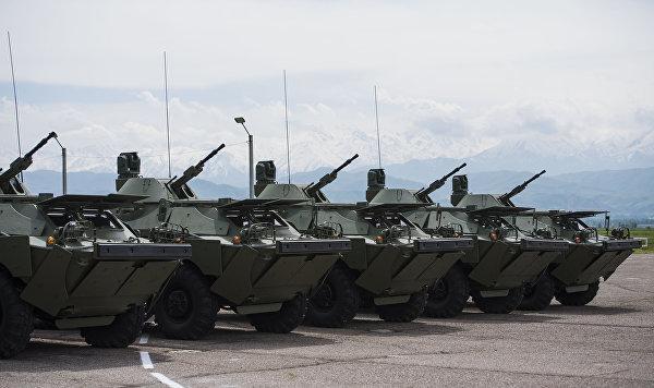 Модернизированные бронеразведчики БРДМ-2МС доставлены в Сербию