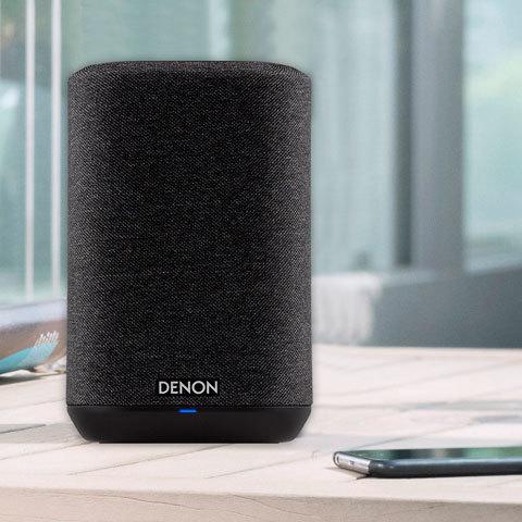 Новые беспроводные динамики Denon Home