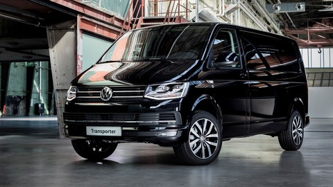 Пневмохэлперы BlackStone для Volkswagen Transporter