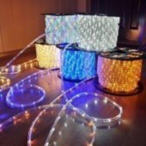 Монтаж и подключение светодиодного дюралайта LED шнура ленты