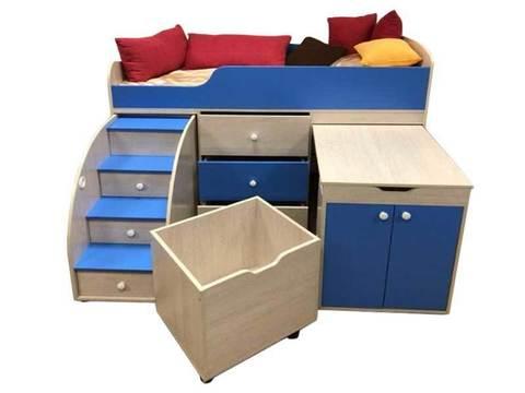 Кровати трансформеры - отличная мебель для малогабаритных квартир!