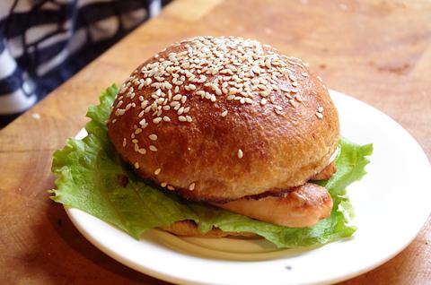 Булочки для гамбургеров на закваске