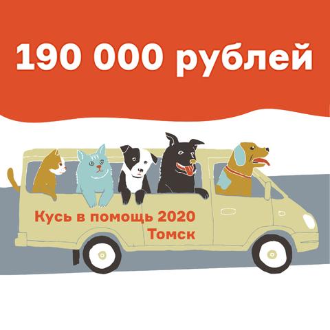 Кусь в помощь 2020/ Помогаем приюту в Томске