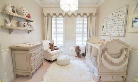 Подготовка комнаты к появлению новорожденного