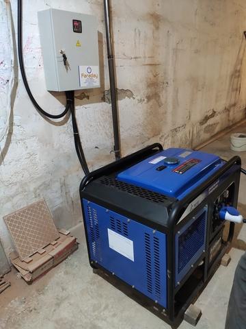 ДГУ 10 кВт для пансионата Самарской области