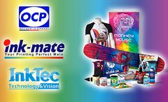 Сравнение сублимационных чернил. Что лучше: OCP или DCTEC, Ink-Mate или InkTec?