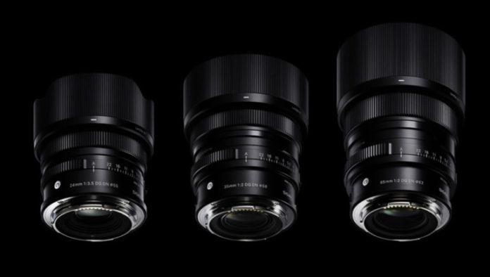 Sigma анонсировала объективы 35mm F/2, 65mm F/2 и 24mm F/3.5