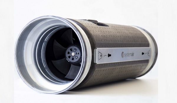 Канальный вентилятор пониженной шумности предлагает Systemair