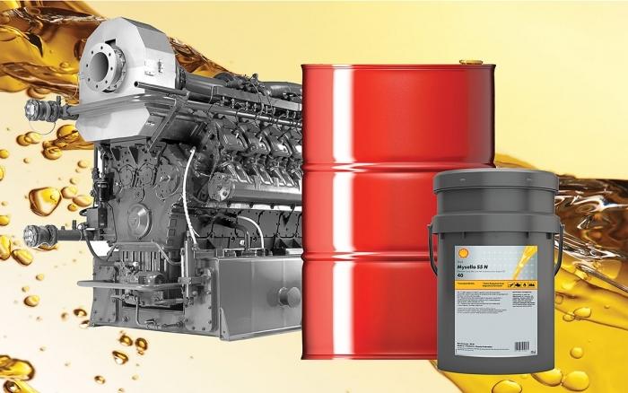 Shell Mysella для газовых двигателей