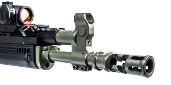Новый «настраиваемый» газовый блок от Rifle Dynamics