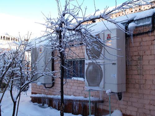 Сплит-системы – адаптация к российской зиме