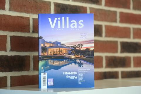 Журнал Villas о нашем проекте в Греции
