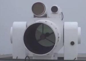 Китай тестирует боевой лазер