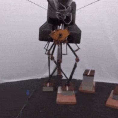 Шагающий робот снабдят компьютерным зрением
