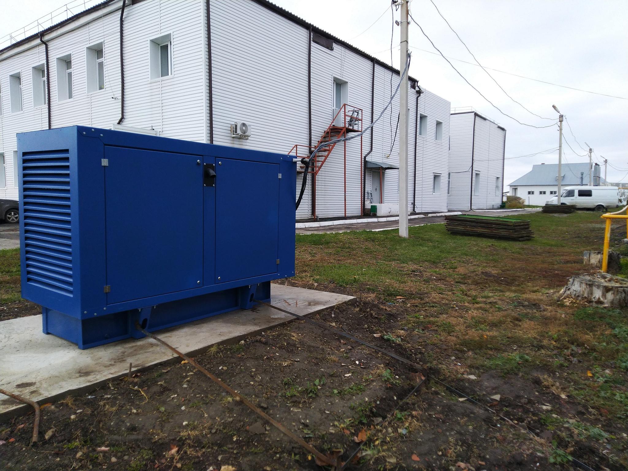 Поставка ДЭС на 100 кВт для одного из пасионатов Самарской области