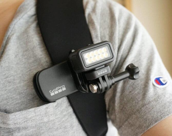 Обзор портативной светодиодной подсветки GoPro Zeus Mini