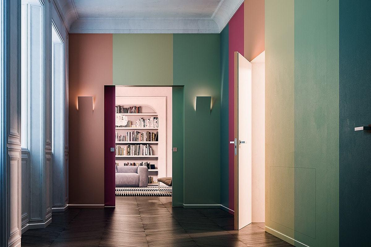 Новинка! Итальянские пеналы для раздвижных дверей Eclisse