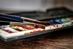 Техника рисования по сырому акварелью и её секреты
