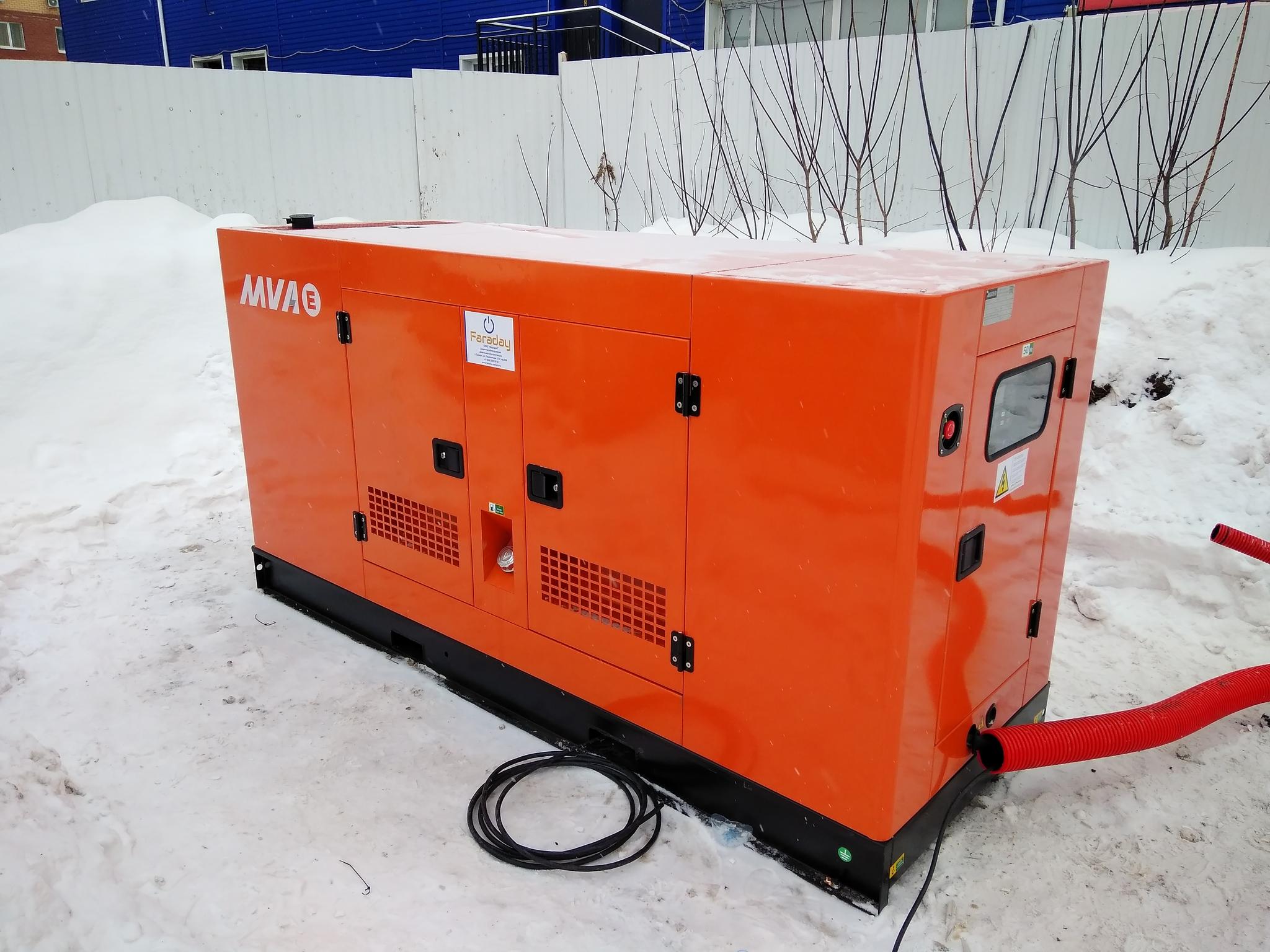 Резервное электроснабжение АЗС