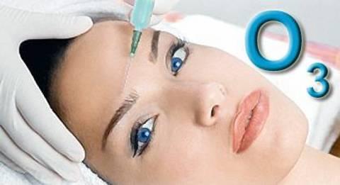 Озонотерапия для лица: особенности процедуры