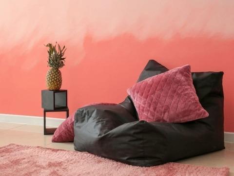 Использование тканей в бескаркасной мебели