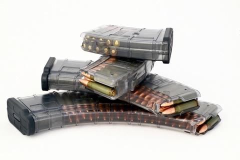 Магазин прозрачный для Сайга 12 на 10 патронов Обзор
