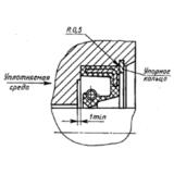 ГОСТ 8752-79 Манжеты резиновые армированные (сальники) для валов
