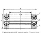 ГОСТ 22704-77 Уплотнения шевронные резинотканевые для гидравлических устройств