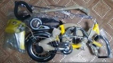 Как собрать детский велосипед из коробки