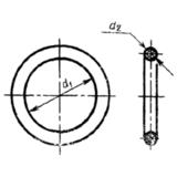 ГОСТ 18829-73 Кольца резиновые уплотнительные круглого сечения для гидравлических и пневматических устройств