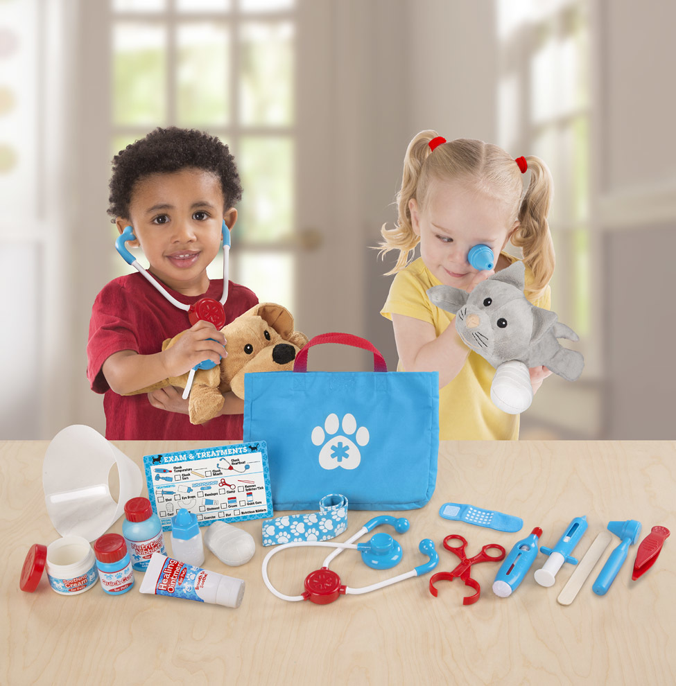 Лучшие игрушки и подарки для детей 3-4 лет от Melissa and Doug