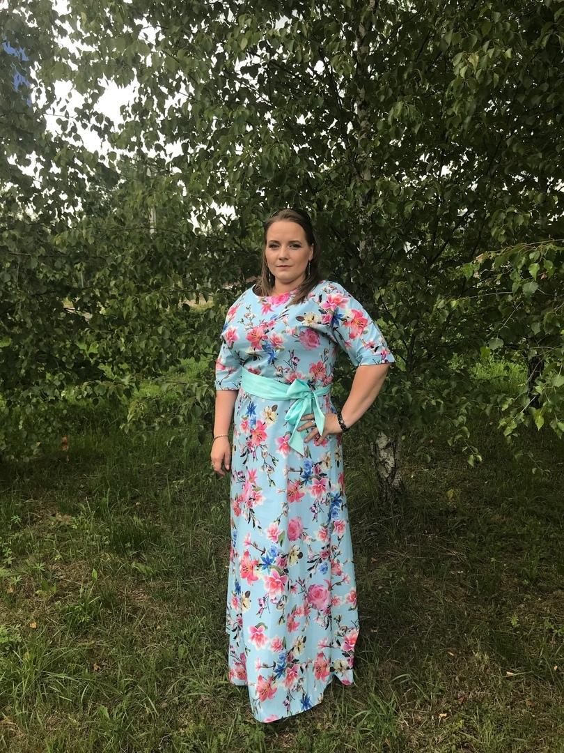Отзыв о платье (нет на сайте 61)