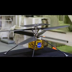 «Марсианский» вертолет испытан в камере с углекислым газом