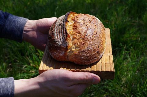 Пшеничный хлеб с псилиумом на закваскле