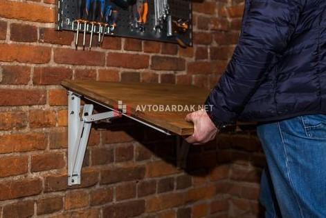 Монтаж стола в гараж своими руками