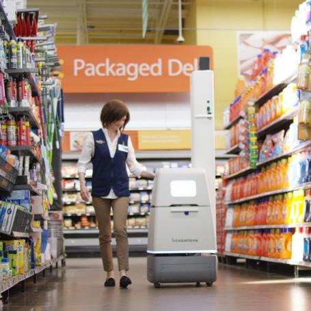 Сеть супермаркетов Walmart тестирует роботов