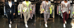 Мужской костюм - классика на современный лад